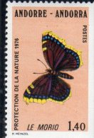 Andorre:N°259**(papillon) - French Andorra