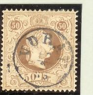 Heimat Österreich Steiermark 1867 Mi# 41 II E Voll-O-Stempel Vorau 10/2 - 1850-1918 Imperium