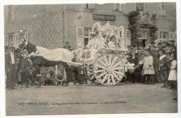D12644 - HAVELANGE  -  Cort�ge fleuri des f�tes communales. Le char du printemps  * attelage*