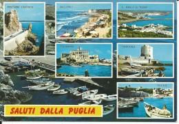BA071 - SALUTI DALLA PUGLIA - VIAGGIATA 1976 - Bari