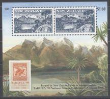 New Zealand - 1998 Tarapex´98 Block MNH__(TH-10671) - Hojas Bloque