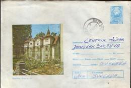 Romania - Postal Stationery Cover 1979 Used - Sovata - Villa No.17 - Postal Stationery