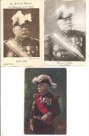 Guerre 1914-1918 - GENERAL  JOFFRE - Lot De 3 Cartes - Dont Une Avec Pub Phoscao - Personaggi