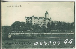 Konopiste (Zamek) V.1920 Schloß (4848) - Czech Republic