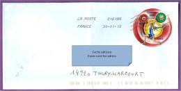 Enveloppe FRANCE: Championnat Du Monde D'haltérophilie France, à Disneyland Paris Novembre 2011 / Sport - France