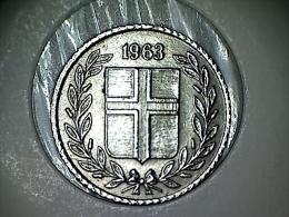 Islande 10 Aurar 1963 - Iceland