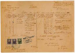 Romania, 1945, Vintage Birth Register Extract - Kingdom Period, Bucuresti - Documentos Históricos