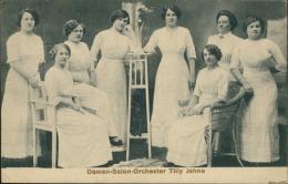 MUSIQUE - Damen-Salon-Orchester Tilly Jehna (groupe De Femmes élégantes) - Musique Et Musiciens