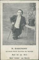 M. BAGONGHY, Le Plus Petit écuyer Du Monde, âge De 22 Ans, Son Poids 20 Kilos (équitation) - Hippisme