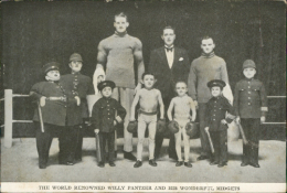 LILIPUTIEN, CIRQUE / The World Renowned Willy Pantzer And His Wonderful Midgets - Cirque