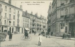 54/NANCY, Place Sainte Marie, Rue De Mon Désert (Hotel Ste Marie, Enfants, Vélo) - Nancy