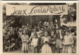 FETE DU QUARTIER LA REINE A PHITIVIERS LOT DE 11 PHOTOS 13X18 VERS 1950-60 DANS LA POCHETTE DU PHOTOGRAPHE