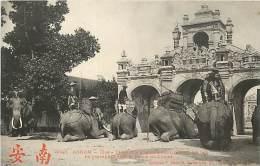 Réf : D-15-3385  : ANNAM ELEPHANTS - Elephants
