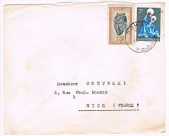 Congo Belge / N� COB 291 & 364 sur lettre ; C�D de Boma du  ?-08-1960