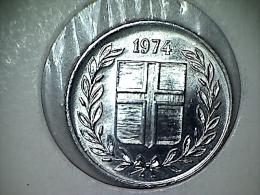 Islande 10 Aurar 1974 - Iceland