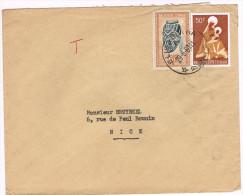 Congo Belge / N� COB 291 & 362 sur lettre ; C�D de Elysabetha du  29-06-1960