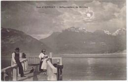 Cpa LAC D ANNECY Débarcadere De Sévrier ( Au Dos Tampon PROCURE GENERALE Chalons Sur Marne) - Annecy