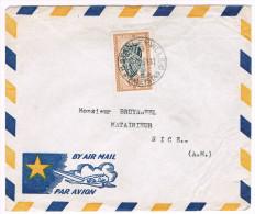 Congo Belge / N� COB 291 sur lettre ; C�D de Stanleyville du  26-10-1961