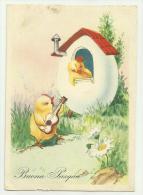 Buona Pasqua Viaggiata F.grande   Ottimo Stato - Pasqua