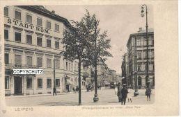 LEIPZIG - Hotel STADT ROM Wintergartenstr. - Schön Belebt! - Non Classificati