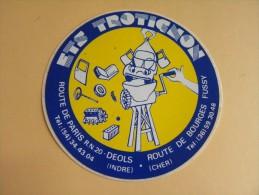 Autocollant,Sticker - Ets TROTIGNON - DEOLS - FUSSY -  ( 448 P19) - Autocollants