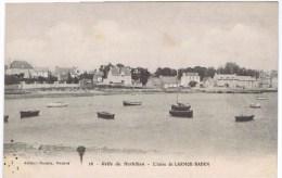 Cpa GOLFE DU MORBIHAN L Anse De Larmor Baden - Larmor-Plage