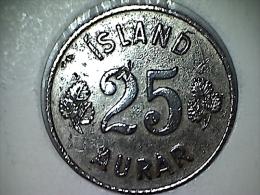 Islande 25 Aurar 1963 - Iceland