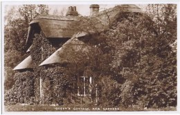 Cpa  QUEEN S COTTAGE KEW GARDENS - London Suburbs