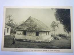 LANO  (Iles  Wallis-Océanie)  :  Une Case Indigène Servant De  GRAND  SEMINAIRE    - Wallis-Et-Futuna
