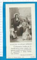 Holycard  -  St.  Angela  Merici - Images Religieuses