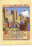 Histoire De Saint Louis Roi De France Embarquement à Aigues Mortes Pour La 8è Croisade (n°10 Orient) - Historia
