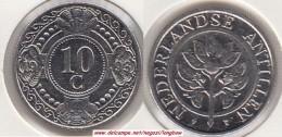 Antille Olandesi 10 Cents 1993 Km#34 - Used - Antille Olandesi