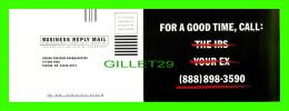 ADVERTISING - PUBLICITÉ - NISSAN PROGRAM HEADQUARTERS - DOUBLE CARD - MAX RACKS - - Publicité