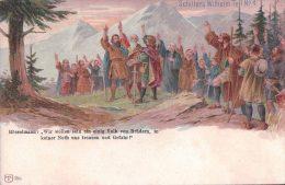 Schiller´s Wilhelm Tell N°4, Litho Couleur (5064) - Histoire