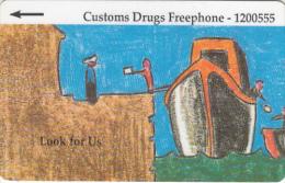 JERSEY ISL.(GPT) - Anti Drugs 1/Look For Us, CN : 26JERA(normal 0), Tirage %20000, Used - United Kingdom
