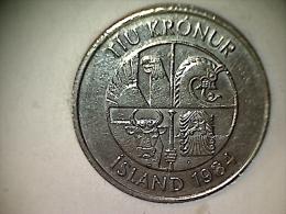 Islande 10 Kronur 1984 - Iceland
