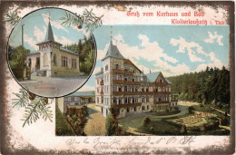 AK LITHO 1903 BAD KLOSTERLAUßNITZ I. THÜRINGEN BEI HERMSDORF KURHAUS SAALE HOLZLAND KREIS - Bad Klosterlausnitz