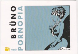 Ex-libris BRÜNO Pour PORNOPIA Année 2014 - Ex-libris