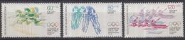 Berlijn - Sporthilfe: Olympische Sommerspiele, Los Angeles 1984 – MNH/postfris – M 716-718 - Zomer 1984: Los Angeles