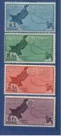 Pakistan 1960 Jammu & Kashmir Definitive. MNH . Set  Of 4 - Pakistan