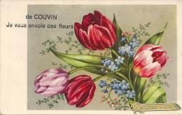 De COUVIN Je Vous Envoie Ces Fleurs - Courrier De 1944 - Couvin