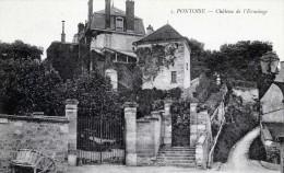 PONTOISE CHATEAU DE L ERMITAGE - Pontoise