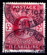 Gran-Bretagna-249 - 1902 - Y&T/U N.119 (o) - Privo Di Difetti Occulti. - 1902-1951 (Re)