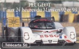 T56 - France Phonecard, 50 Units, Peugeot, Used, 2 Scans - Frankrijk