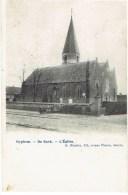 OOIGEM - De Kerk / L'Eglise - Uitg. D. Hendrix, - Prachtige Kaart In Zeer Goede Staat - Wielsbeke