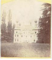KRUISHOUTEM - Prachtige Foto Van Het Kasteel - 7 X 8 Cm. - Op Karton - Jaartal 1865. - Kruishoutem