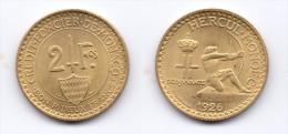 Monaco 2 Francs 1926 - Monaco