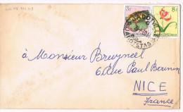 Congo Belge / N� 319 & 314 sur lettre ; C�D de Jadotville du 20-07-1960 ( fleurs )