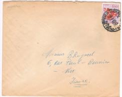 Congo Belge / N� 317 sur lettre ; C�D de Elisabetha du 04-07-1960 ( fleurs )