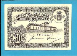 ARCOS DE VALDEVEZ - CÉDULA De 30 CENTAVOS - M.A. 252 - UNC. - ND - PORTUGAL - EMERGENCY PAPER MONEY - NOTGELD - Portugal